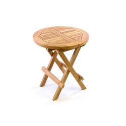 VCM Gartentisch Beistelltisch Holz Beistelltisch Holz