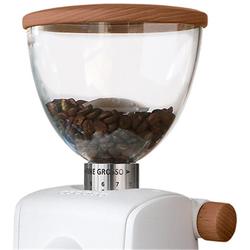 Ascaso Walnuss-Holz-Applikation für I-Steel und I-Mini Kaffeemühlen