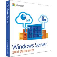 Microsoft Windows Server 2016 Datacenter 16 Core OEM DE