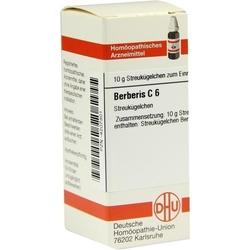 BERBERIS C 6 Globuli 10 g