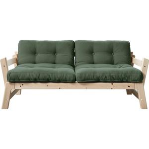 Karup Design Schlafsofa Step, inkl. Futonmatratzen, Bezugsqualität 1 grün