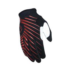 SixSixOne Handschuhe 401 Chevron Schwarz/Rot