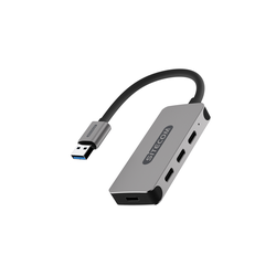 Sitecom USB-A Hub 4 Port USB-C