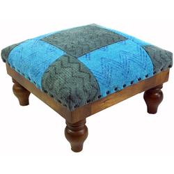 Guru-Shop Stuhl Arabisch- Marokkanischer Kelim Boden Hocker,.. 40 cm x 25 cm x 40 cm