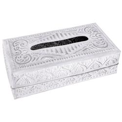 Guru-Shop Aufbewahrungsdose Kosmetiktücher Servietten Box aus geprägtem..