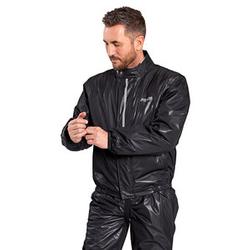 Proof Dry Light Membran-Regenjacke Damen und Herren schwarz XL