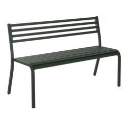 emu Segno 2-Sitzerbank 128cm Stahl Antik Antikeisen Dunkelgrau