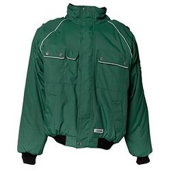 PLANAM unisex Arbeitsjacke CANVAS 320 grün Größe XL