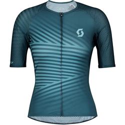SCOTT Damen Fahrradtrikot 'RC Premium Climber' blau, Größe L, 4694701