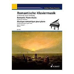 Romantische Klaviermusik  für Klavier vierhändig - Buch