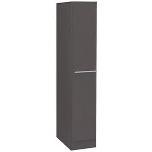 wiho Küchen Apothekerschrank Flexi2 grau