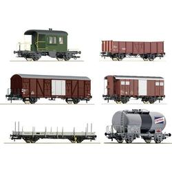Roco 76051 H0 6er-Set Güterwagen der SBB