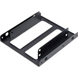 Akasa AK-HDA-03 3.5 Zoll (8.89 cm) Festplatten-Einbaurahmen HDD/SSD Anzahl Festplatten (max.): 1 x 2