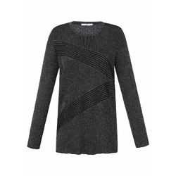 Pullover Pullover Emilia Lay schwarz/silber