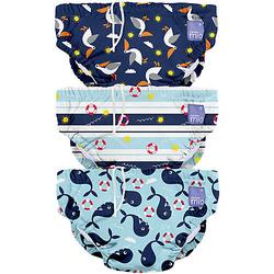 Schwimmwindel, blau, Gr. S, 0-6 Monate, 3er Packung Gr. 56/62