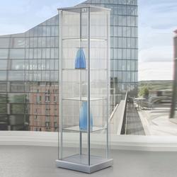 Glasvitrine Ausstellung mit Drehtür abschließbar