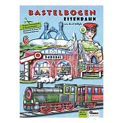 Eisenbahn Bastelbogen