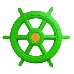 ROG-Gardenline Spielzeug-Steuerrad, Für Schiff / Spielturm aus Kunststoff - Ø 55 CM - Apfelgrün grün