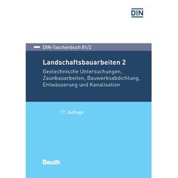 Landschaftsbauarbeiten 2: eBook von