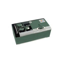 FASANA Serviette 228562 33x33cm 3lagig smaragdgrün 250 St./Pack.