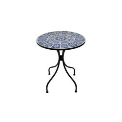 HTI-Living Gartentisch Metalltisch Marokko blau