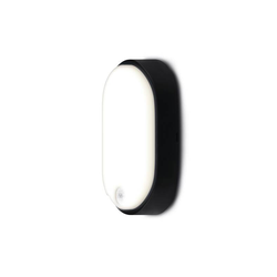 LED Außenleuchte Oval mit Bewegungsmelder