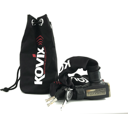 Kovix KCL8 Kettingslot Zwart 120 cm