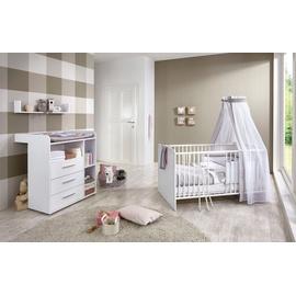 BMG Babyzimmer Luis 3-tlg. weiß