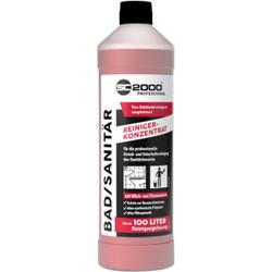 SC 2000 Professional Bad- & Sanitärreiniger, Für die professionelle Grund- und Unterhaltsreinigung, 1 Liter - Flasche