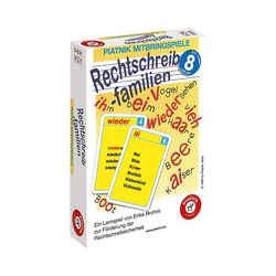 Piatnik Lernspielzeug Rechtschreibfamilien