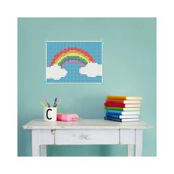 Dot On Malvorlage dot on art - happy, 30 x 40 cm