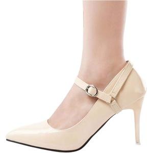 Aufsteckbare Knöchelriemen für High Heels, rutschfeste Schuhriemenschnalle, D02