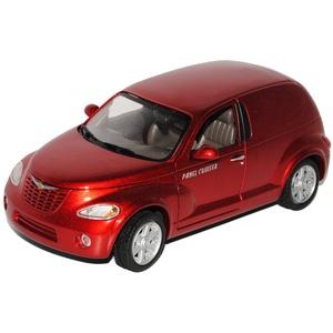 Motormax Chrysler PT-Cruiser Panel Cruiser Rot 2000-2010 1/24 Modell Auto mit individiuellem Wunschkennzeichen
