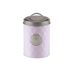 Michelino Teedose Teedose Vorratsdose, Metall, (1-tlg) lila