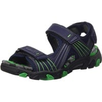 Superfit Lederimitat/Textil Sandale blau 28