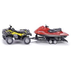 SIKU Spielwaren Quad mit Anhänger und Jet-Ski 2314
