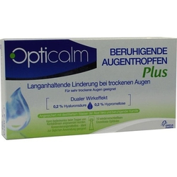 OPTICALM beruhigende Augentropfen Plus in Einzeld. 5 ml