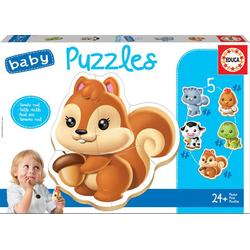 Educa Puzzle. Baby Puzzles Animals B 2x2/2x3/4 Teile