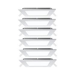 6er Set LED Panels aus ALU zur Decken- und Wandmontage VT-307