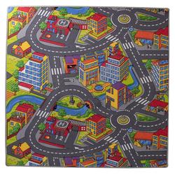 Teppich Spielstraße London 200 x 100 cm, Mr. Ghorbani, Rechteckig, Höhe 5 mm