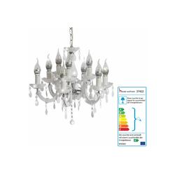 MCW Kronleuchter LED-Kronleuchter-HW155 weiß