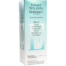 ETHANOL 70% V/V Hofmann's 500 ml