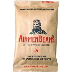 AIRMENBEANS feinste Kaffee Pastillen m.Guarana 21 St