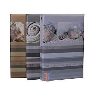 Henzo Back2Nature - Fotoalbum zum Einstecken von 300 Fotos, 10 x 15 cm