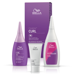 Wella Creatine Curl N Hair Kit