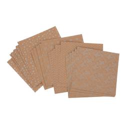 VBS Kraftpapier Faltpapier Kraftpapier, 32 Blatt