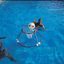 Wasser-Basketball Set 2 Körbe + 1 Ball