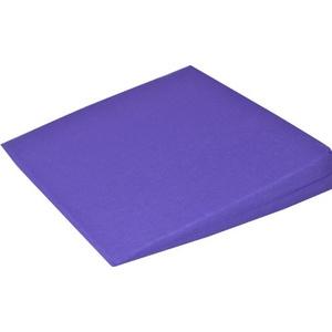 Orthopädisches Keilkissen Kissen Sitzkissen Sitzkeilkissen Sitzkissen Sitzkeil mit 100 % Baumwollbezug! (violett)