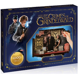 Winning Moves Steckpuzzle Puzzle Fantastic Beasts The Crimes of Grindelwald 1000 Teile, 1000 Puzzleteile