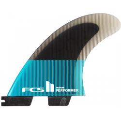 FCS II PERFORMER PC TRI Finnen Set 2021 teal/black - XL